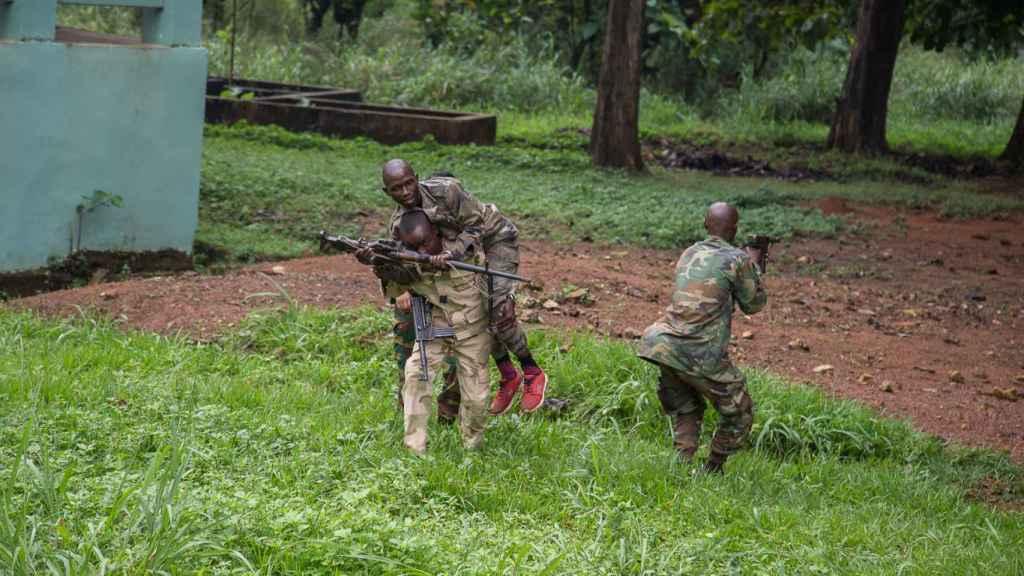 Misión de adiestramiento de las tropas de República Centroafricana.