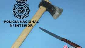 Burgos-violencia-domestica-hacha-policia
