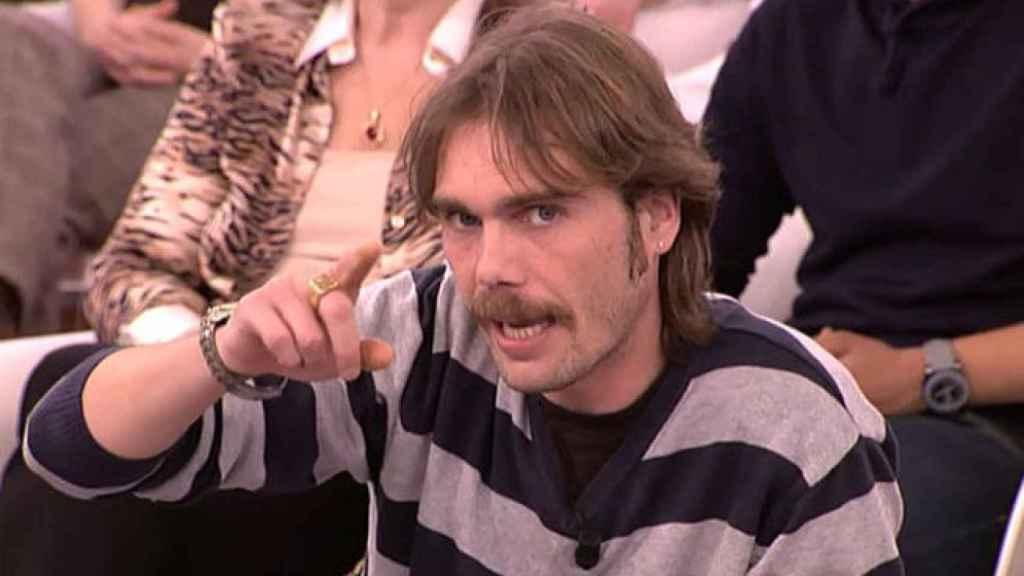 'El Yoyas' durante su intervención en un programa hace años.