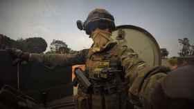 Soldado español desplegado en República Centroafricana; hoy hay 29 efectivos.