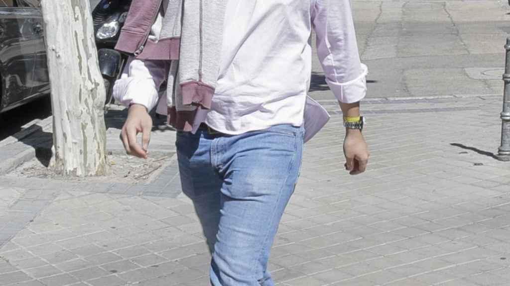Froilán por las calles de Madrid en septiembre.