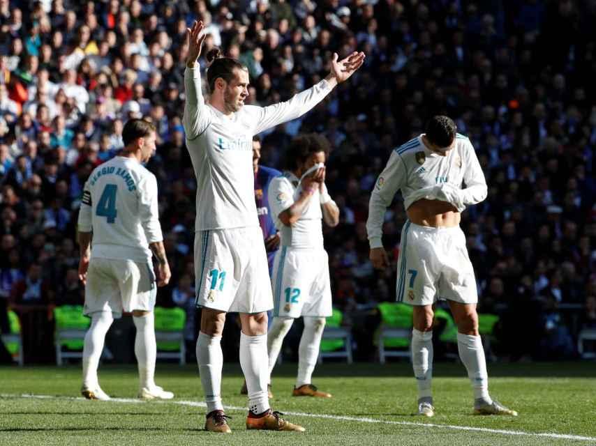 Gareth Bale, durante el Clásico.