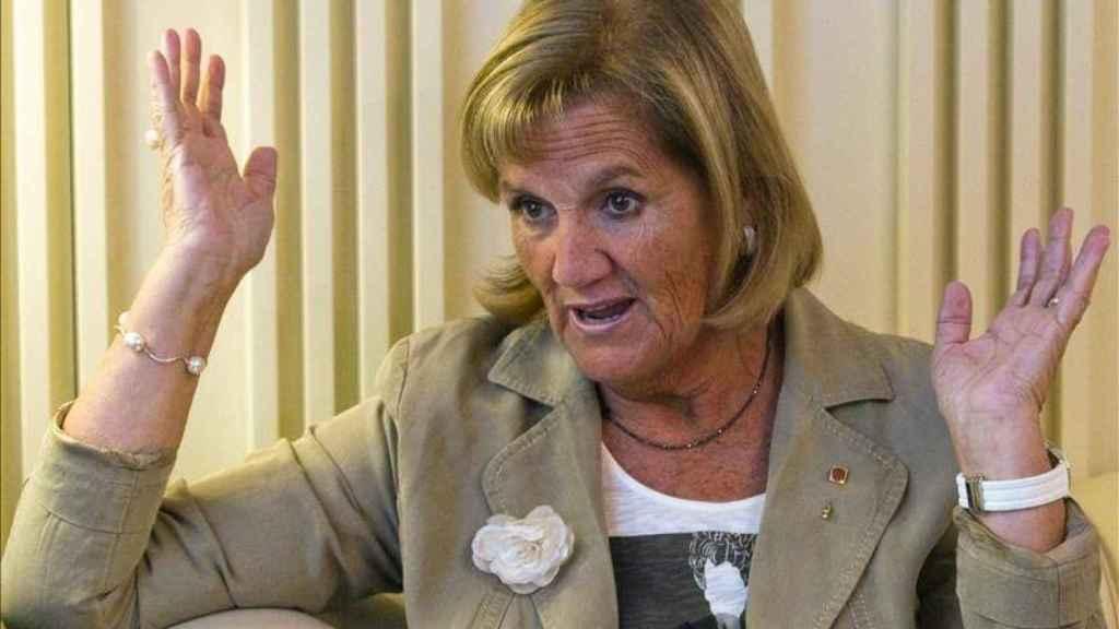 Núria de Gispert, presidenta del Parlamento catalán entre 2010 y 2015.