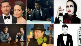 Los negocios de las celebrities comercializando alcohol.