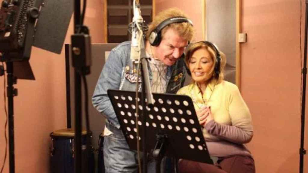 Imagen extraída de la grabación del villancico.