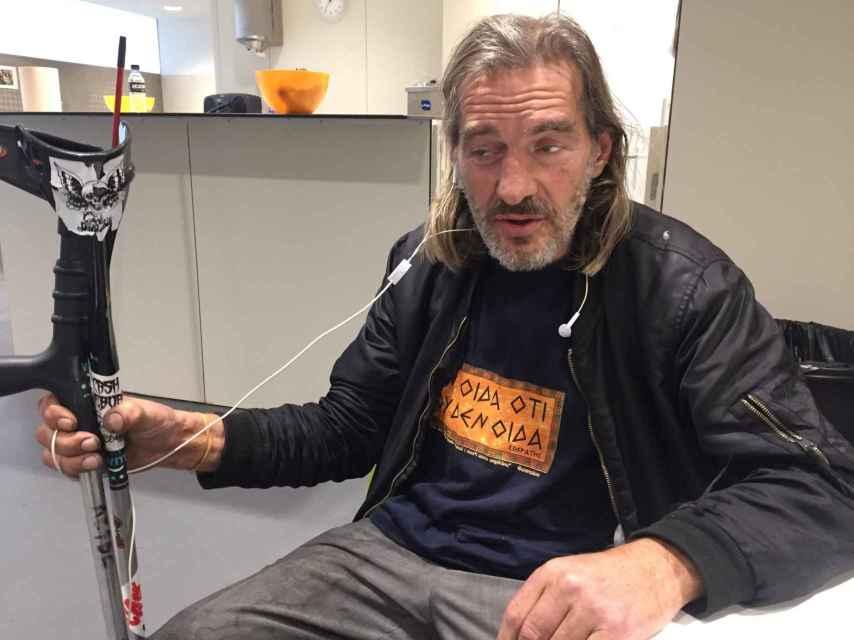 Sid Vicious es uno de los usuarios de la Sala Baluard de Barcelona