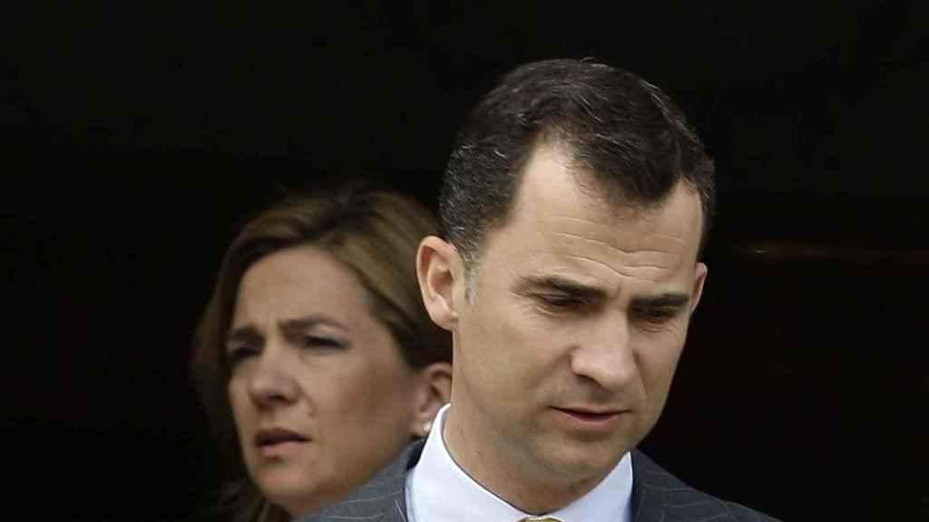 Felipe y Cristina de Borbón, dos hermanos enfrentados