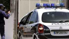 Un coche de Policía