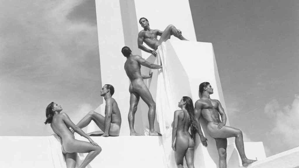 Fotografía publicitaria de Bruce Weber para Calvin Klein.