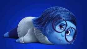 Tristeza, uno de los personajes de la película de Pixar 'Inside Out'