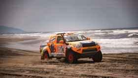 El coche con el que Jesús Calleja ha disputado este Dakar.