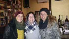Rocío Carrasco y Anabel Dueñas en Toledo.