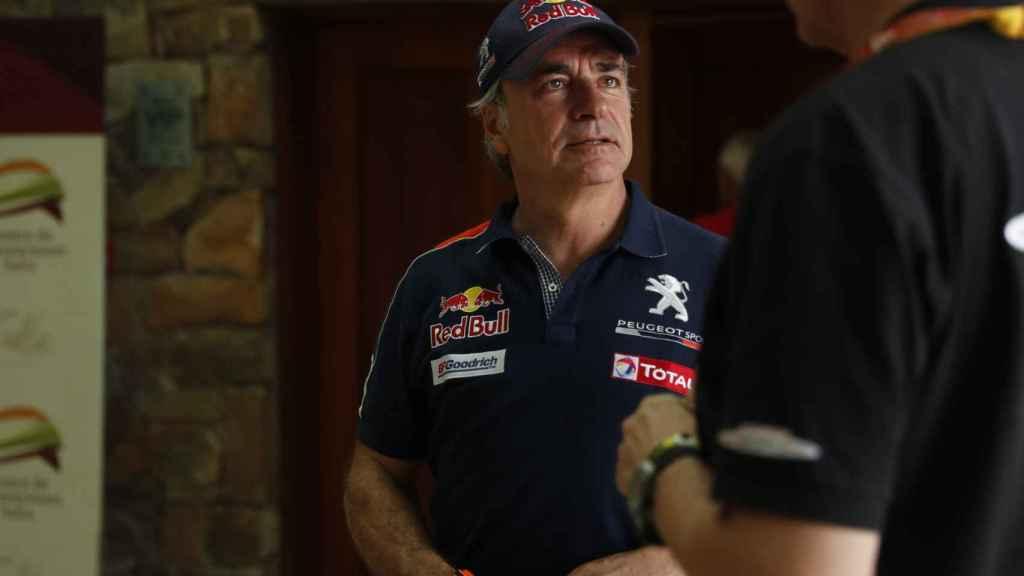 Carlos Sainz antes de conocerse su sanción.