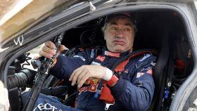 Carlos Sainz en la presente edición del Dakar.