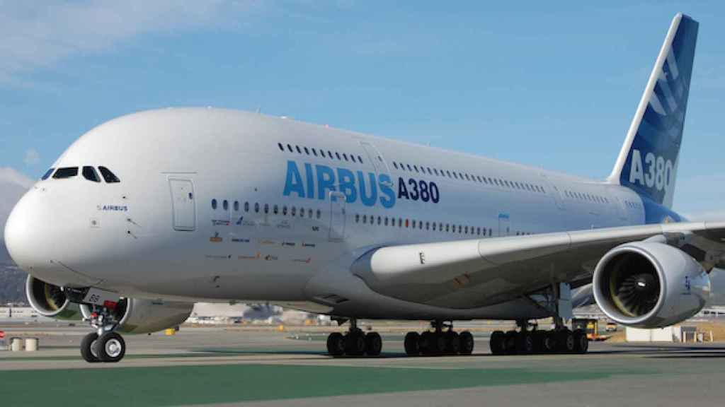 La fabricación del Airbus A380, en el aire.
