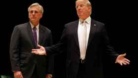 Trump, en Florida con el republicano McCarthy.