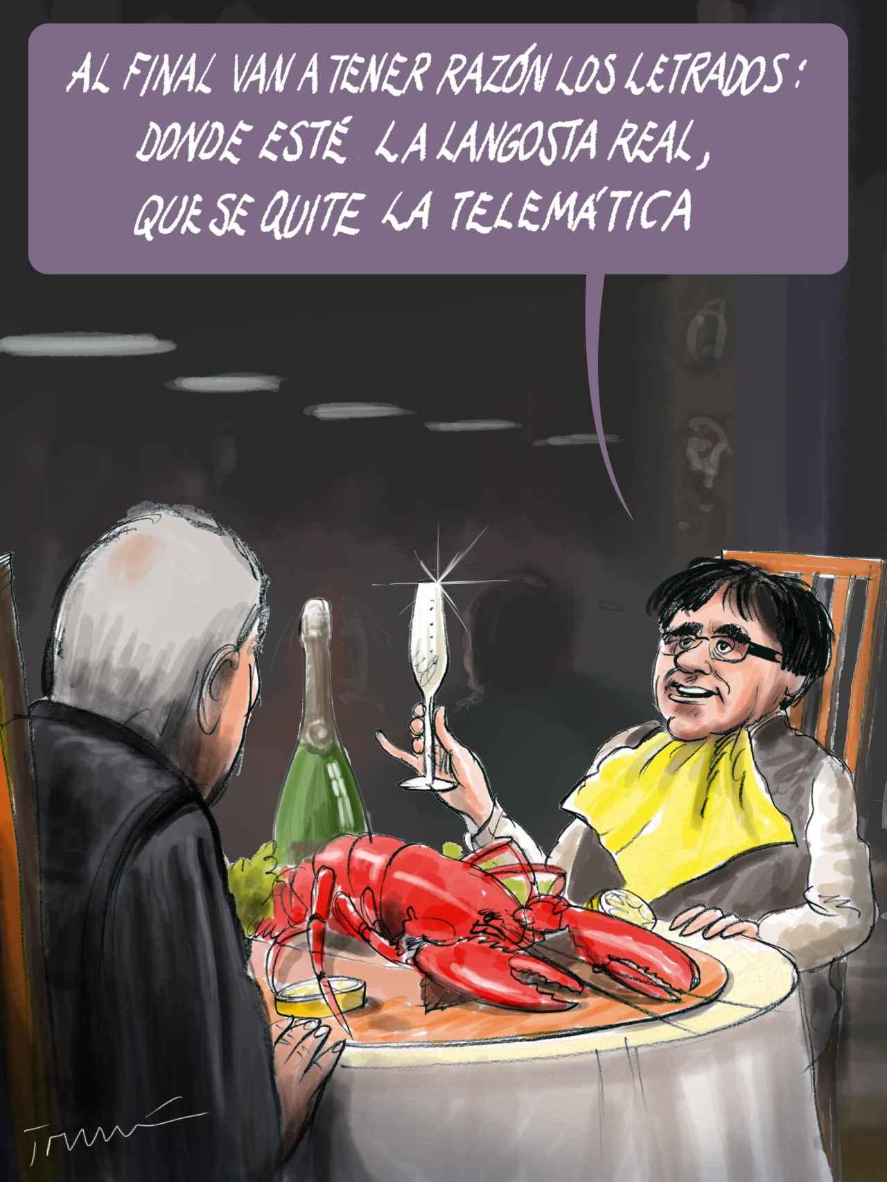 La langosta de Puigdemont