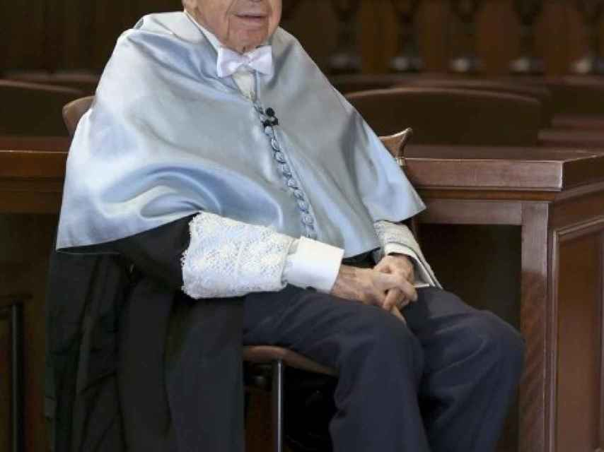 El poeta Pablo García Baena. EFE.