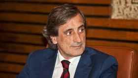 El poeta Julio Martínez Mesanza, Premio Nacional de Poesía en 2017.