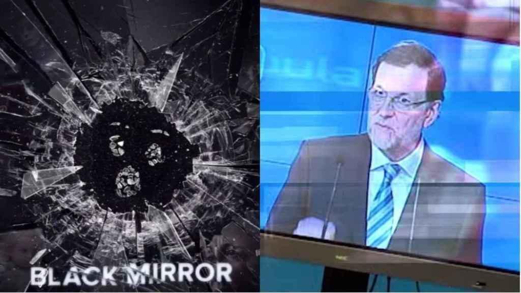 La última de Netflix contra Rajoy: se ríe de sus patinazos lingüísticos en la promo de Black Mirror.