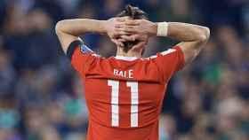 Bale se lamenta con Gales. Foto faw.cymru