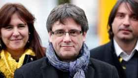 El expresidente de la Generalitat, CarlesPuigdemont.