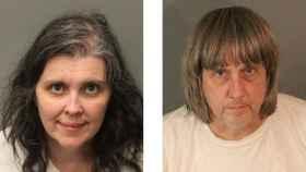 Louise Ann Turpin y David Allen Turpin, los padres que mantenían a sus 13 hijos secuestrados.