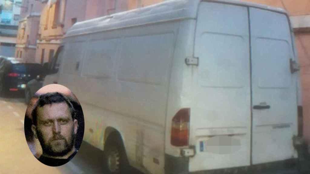 Modelo de furgoneta similar en la que se movía Igor El Ruso por Teruel antes del triple asesinato