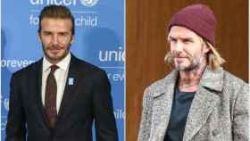 El cambio físico de David Beckham en 2017.