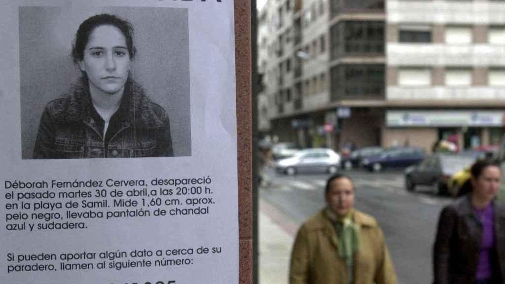 La joven Débora desapareció el 30 de abril del año 2002.