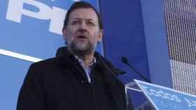 Mariano Rajoy, non grato en Pontevedra.
