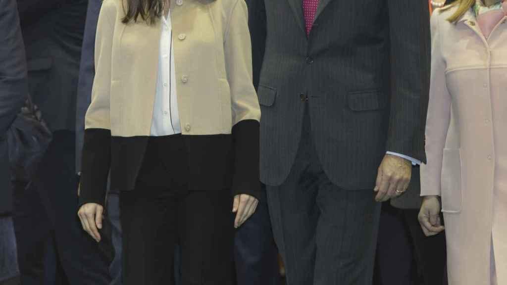 Felipe VI y Letizia, en FITUR.