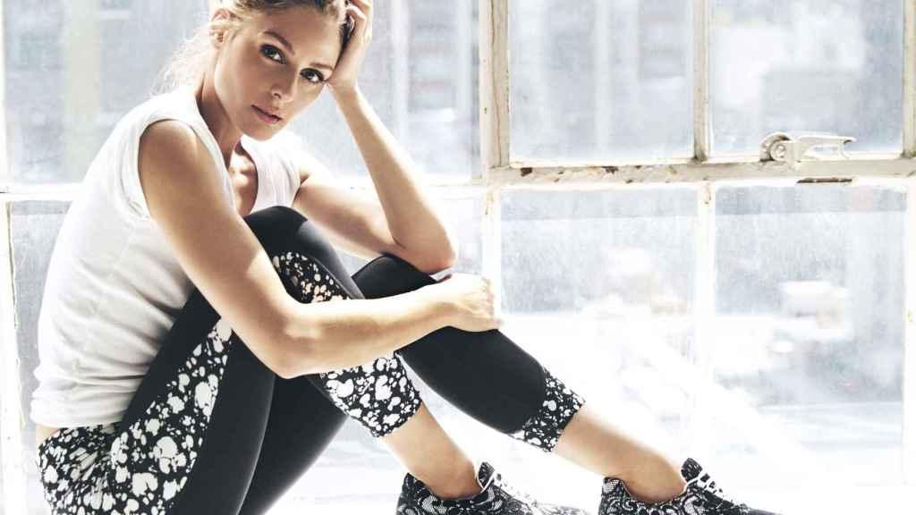 Oliva Palermo y los 'sneakers' de Pretty Ballerina.