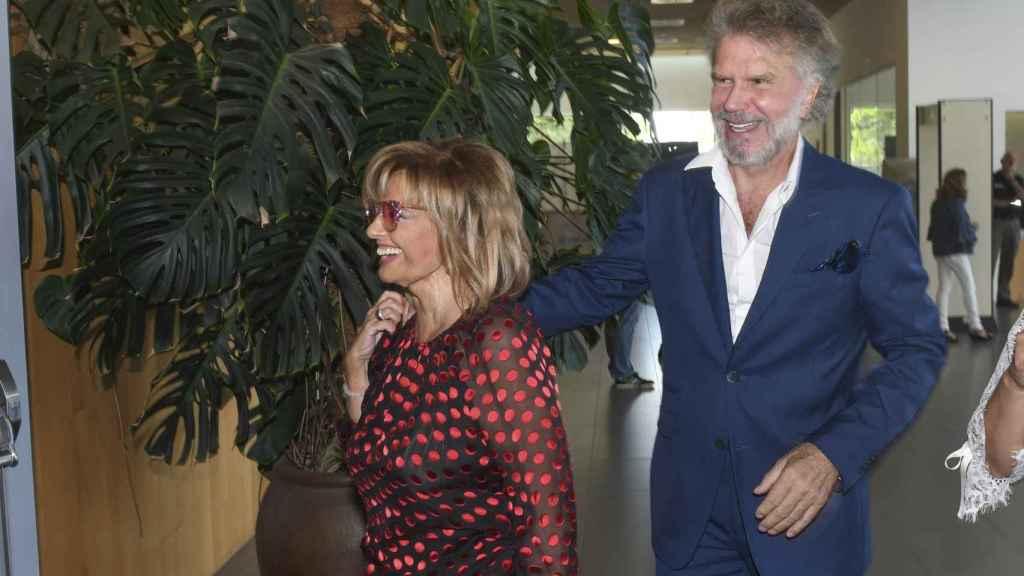 Teresa Campos y Edmundo Arrocet en imagen de archivo.