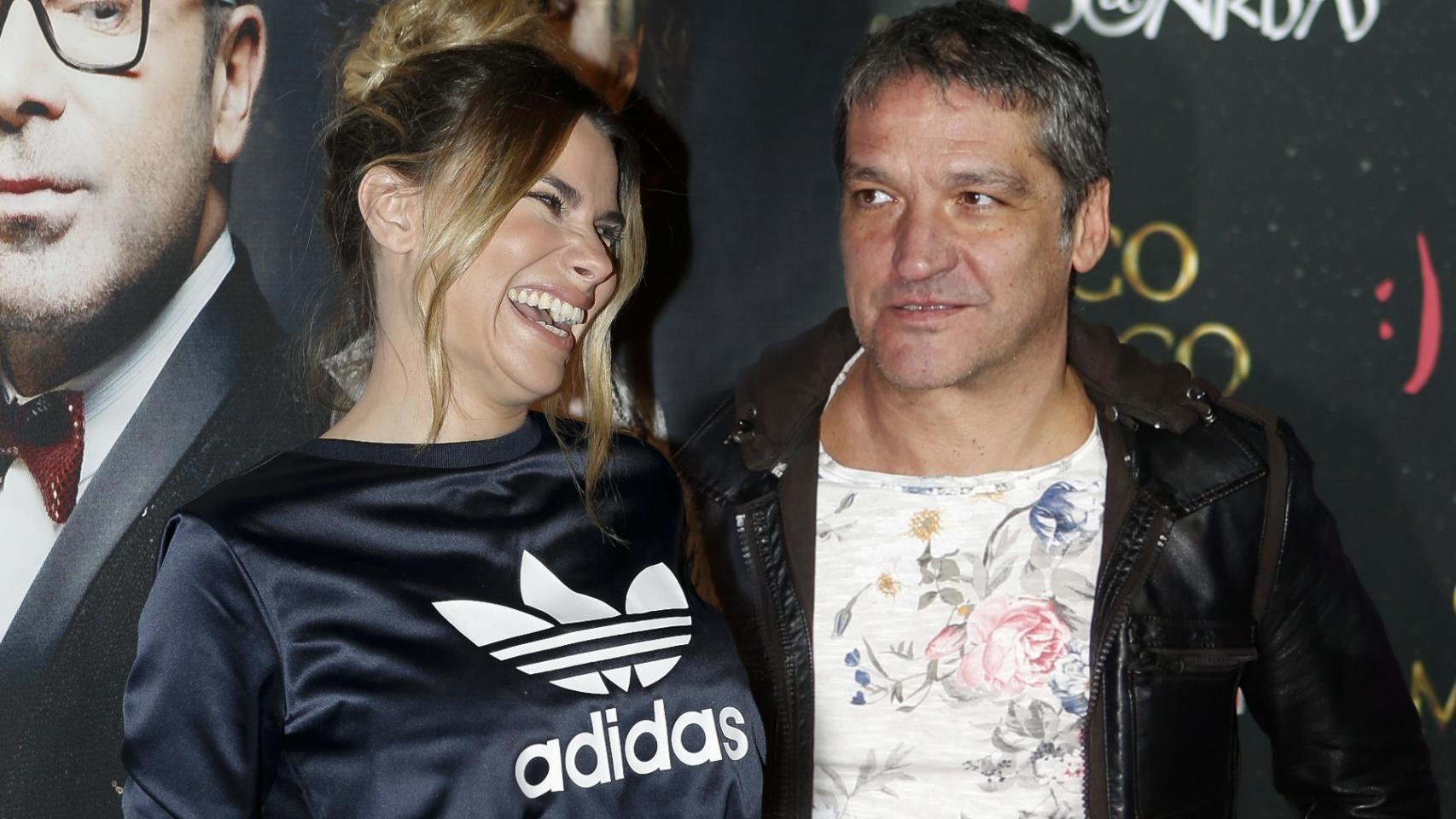 Gustavo y María Lapiedra, en un montaje realizado por JALEOS.