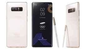 Nuevo Samsung Galaxy Note 8 edición exclusiva Olimpiadas de Invierno