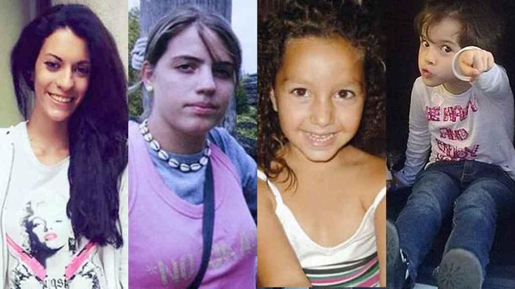 Diana Quer, Marta del Castillo, Mariluz y Ruth.