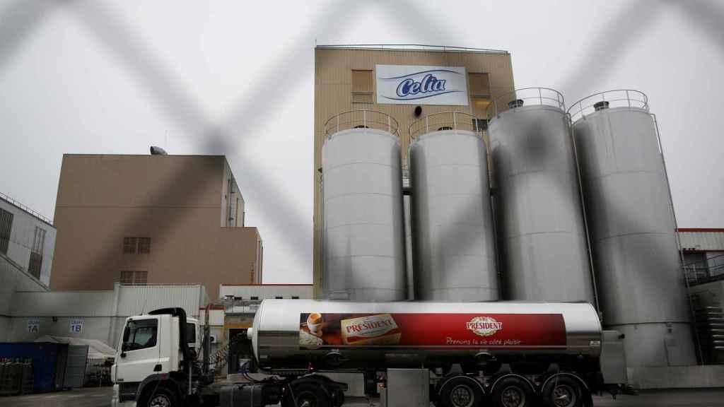 La fábrica de lácteos de Craon, Francia.