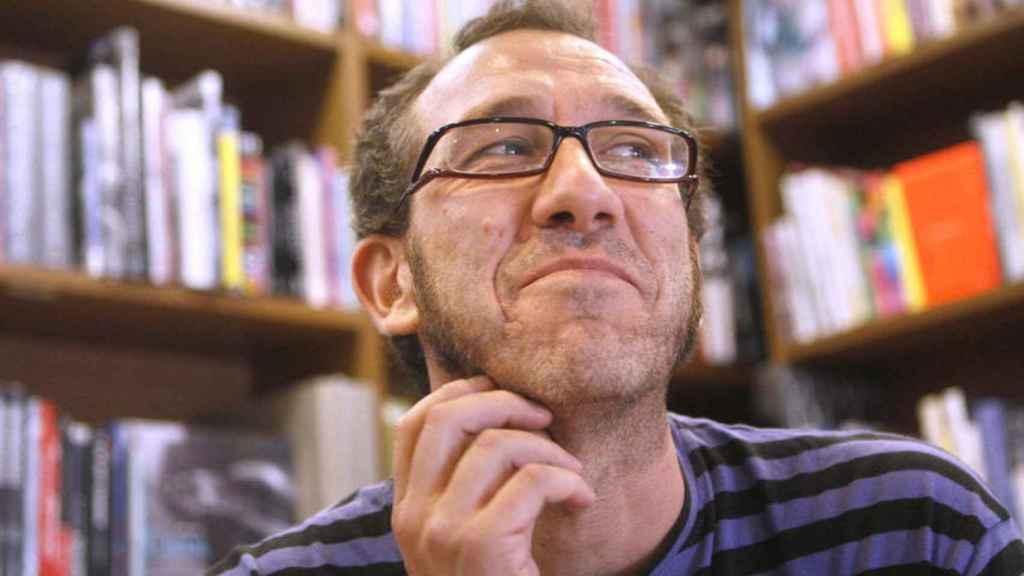 El escritor Ricardo Menéndez Salmón. EFE.