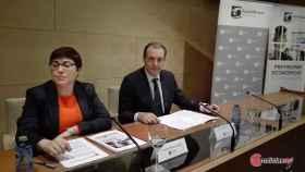 Felisa Becerra y Alberto Gurrionero