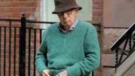 Woody Allen en el rodaje de su última película.