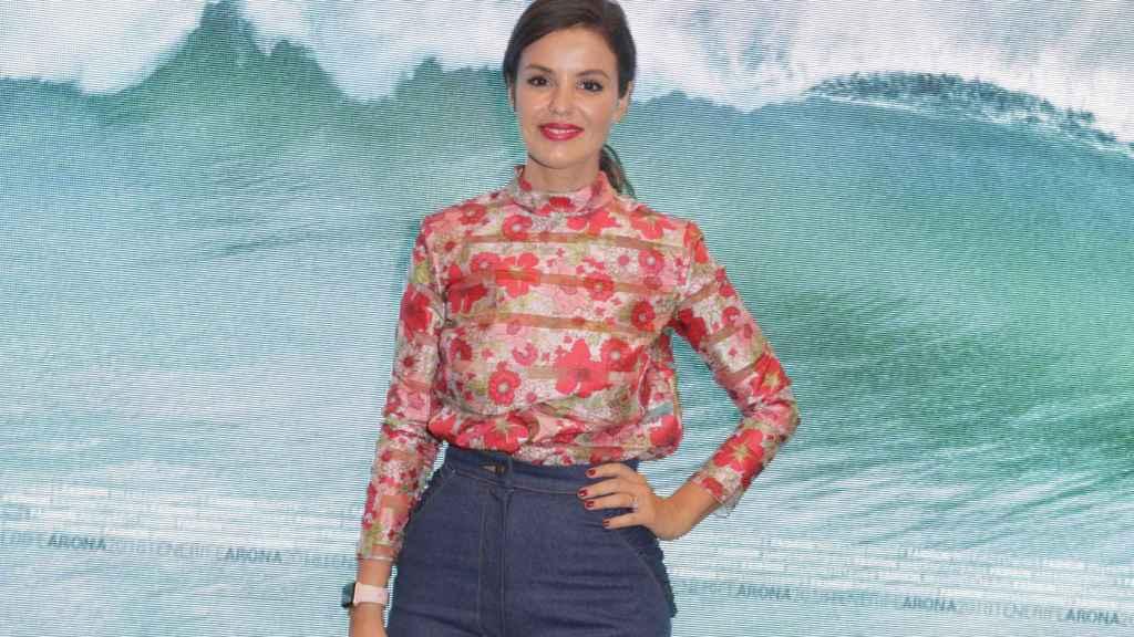 Marta Torné durante el evento de presentación de Tenerife Fashion Week.