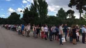 La Feria del Libro de Madrid.