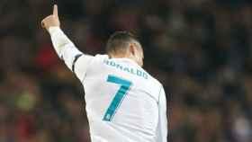 Cristiano celebra un gol. Foto Twitter (@ChampionsLeague)