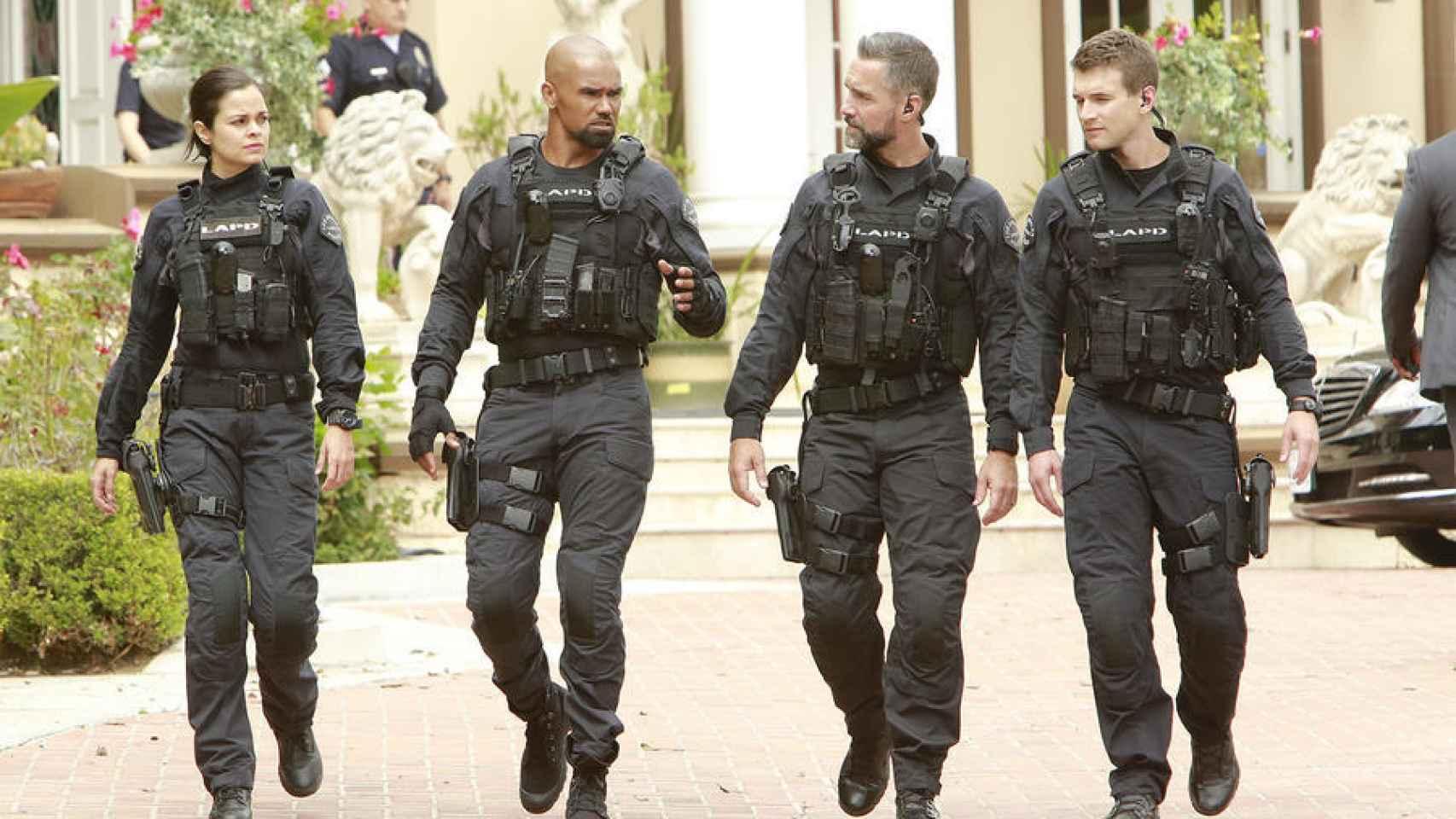 Fotograma de 'Swat, los Hombres de Harrelson', serie emitida por AXN en España.