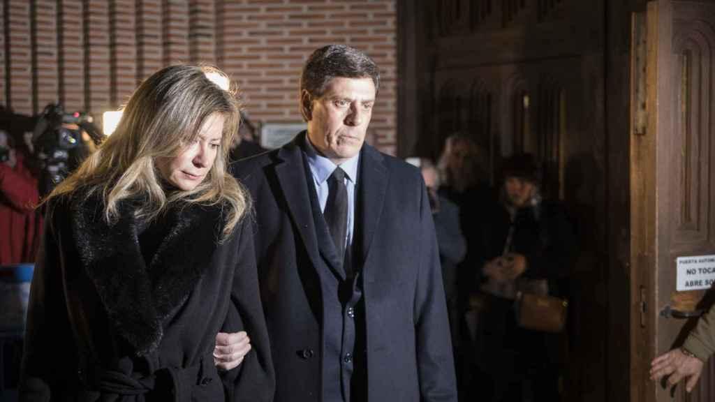 Funeral por Diana Quer en Pozuelo de Alarcón (Madrid)