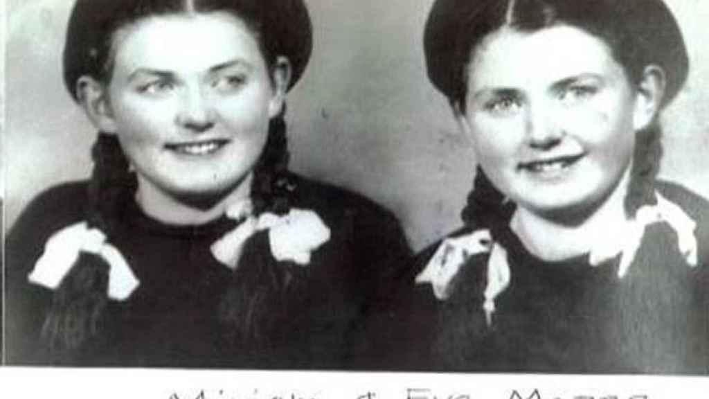 Dos gemelas torturadas por Mengele.