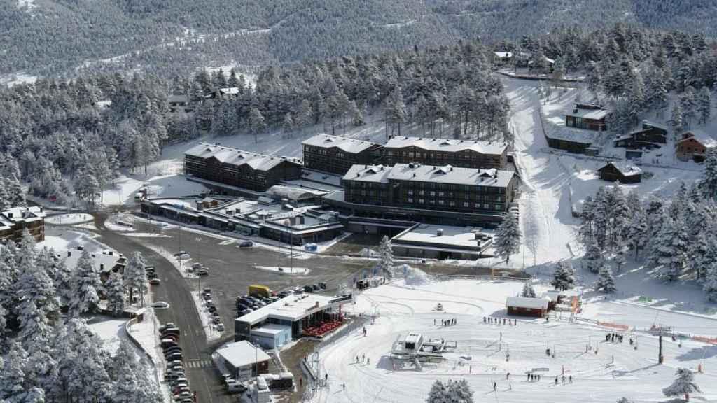Vista panorámica de la estación de esquí de La Molina.