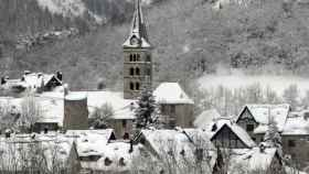 La localidad pirenaica de Arties, en el Valle de Arán.