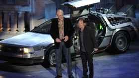 El actor Michael J. Fox, enfermo de párkinson.